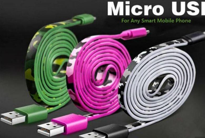Drucker Usb Kabel Neueste 1 Mt Camouflage Farbe 2,4a Micro Usb ...