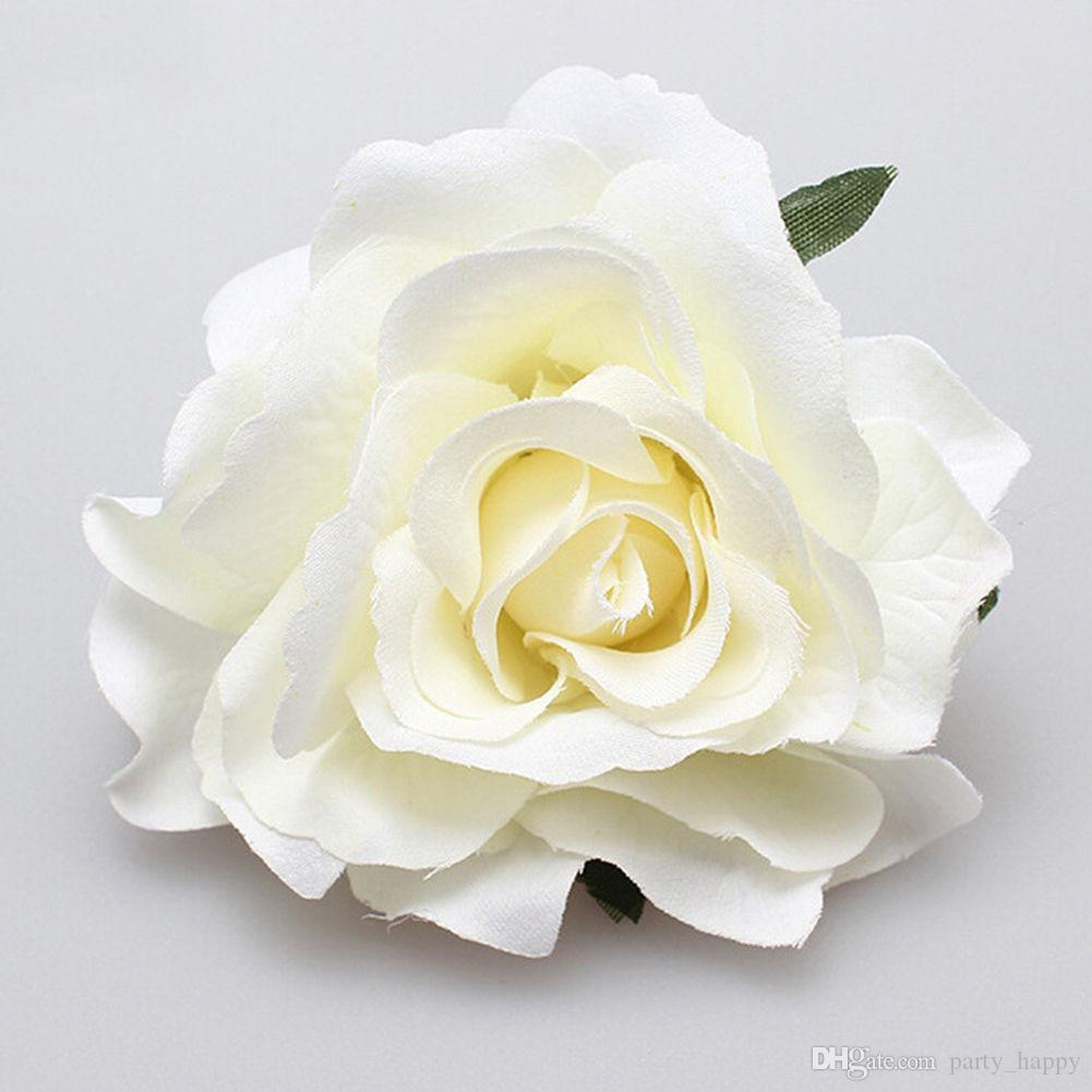 Nupcial rosa flor hairpin broche de dama de honra do casamento party beatuiful acessórios grampo de cabelo