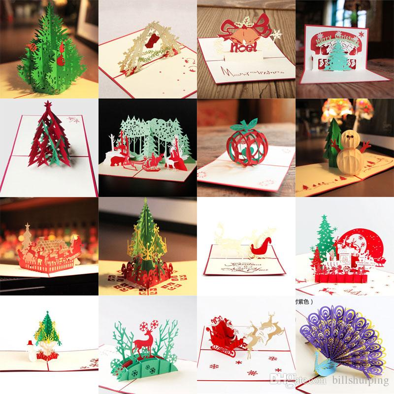 Wholesale Creative Kirigami & Origami 3D Pop UP Greeting & Gift ...