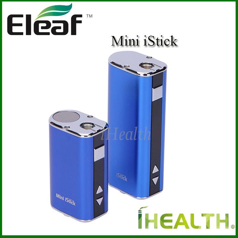 Authentic Flies-Mini-IsTick-Kit 1050mAh Eingebaute Batterie 10W MAX-Ausgangsvariable Spannung Mod 4 Colos mit USB-Kabel Ego-Anschluss