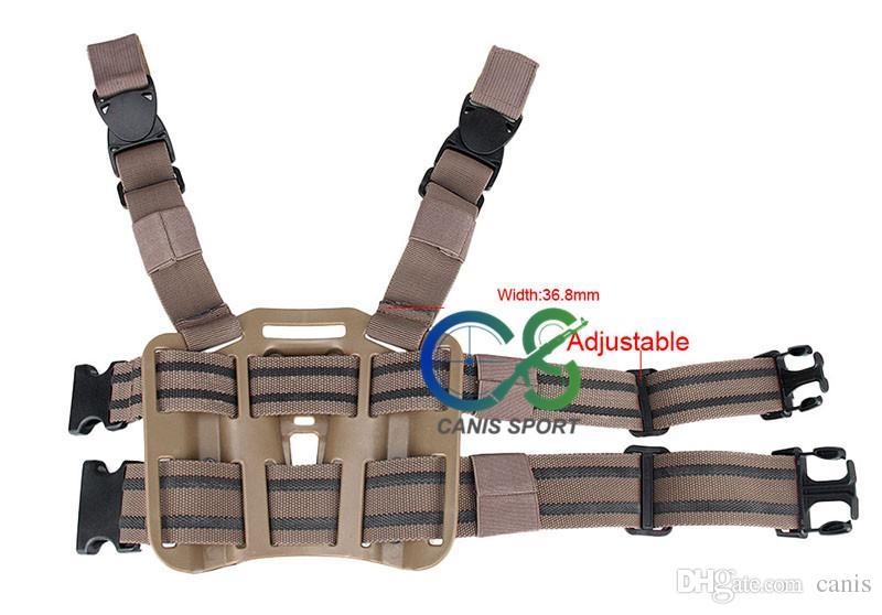 New Arrival Tactical P226 Holster Pistol Thigh Holster of Polymer / Handgun Leg Holster with Platform CL7-0009
