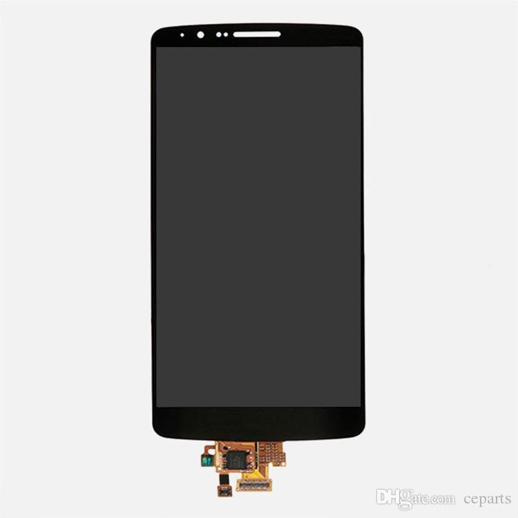 LCD For LG G3 D850 LCD Display + Touch Digitizer Screen Assembly White Gold Gray For LG G3 D850 D851 D855