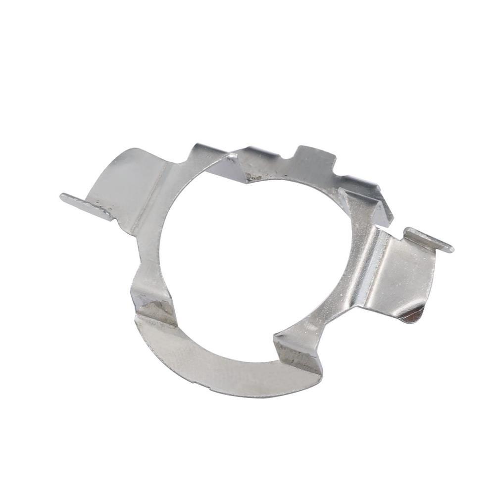 para BMW X5 AUDI A3 A4 H7 LED Adaptador de retención de clip de metal portalámparas bombilla del faro H7 Base del adaptador LED para VW Buick
