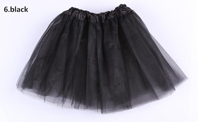 19 Renkler 2016 Şeker Renk Çocuk Tutus Etek Dans Elbiseler Yumuşak Tutu Elbise Bale Etek 3 Layers Çocuk Pettiskirt Giysileri