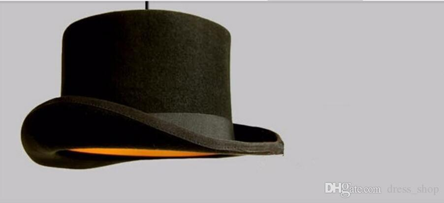 Modern Style chandeliers lamp Jeeves Wooster Top Hat Pendant Dome cap Original fluff