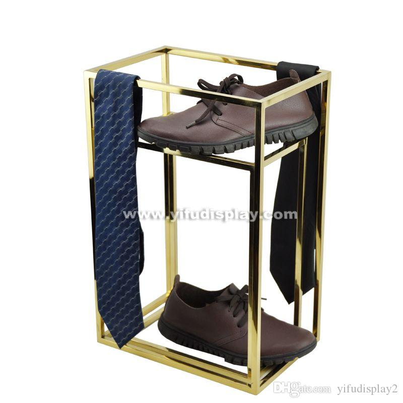 2018 Metal Retail Shoe Rack Display Racks For S Shoes Shelf Commercial From Yifudisplay2 121 51 Dhgate Com