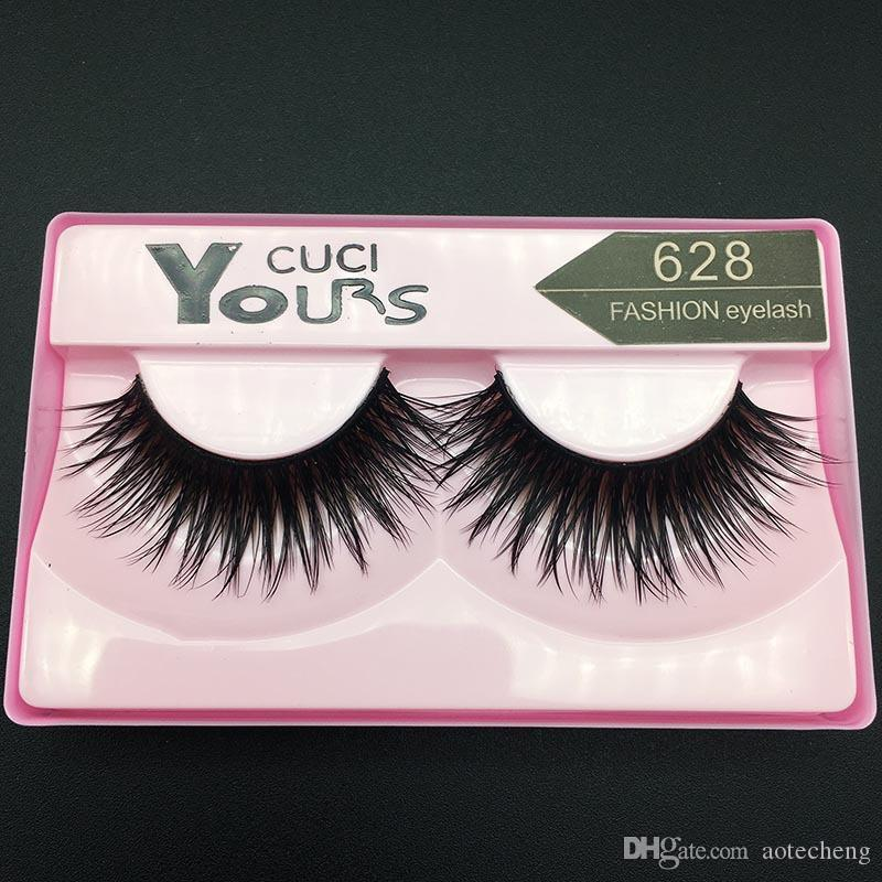 30 style brand Yours Marilyn false eyelashes mink =1 box natural human hair fake eye lashes long wimper extension 2017 new makeup