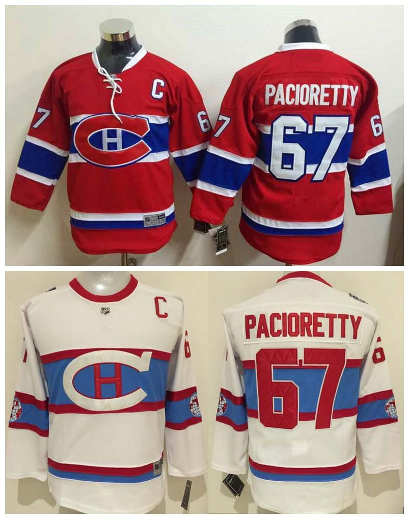 competitive price 15ee3 9d7b6 get montreal canadiens 67 max pacioretty red kids jersey ...