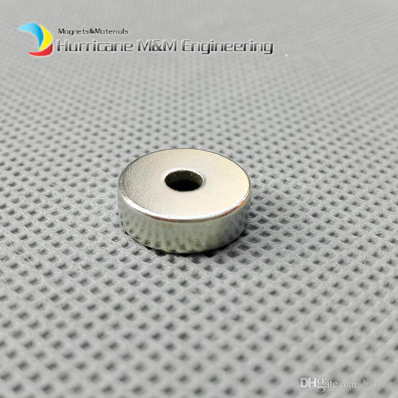 Countersunk Hole Magnet Diameter 12x4 +/-0.1mm Thick M4 Screw Countersunk Hole Neodymium Rare Earth Permanent Magnet