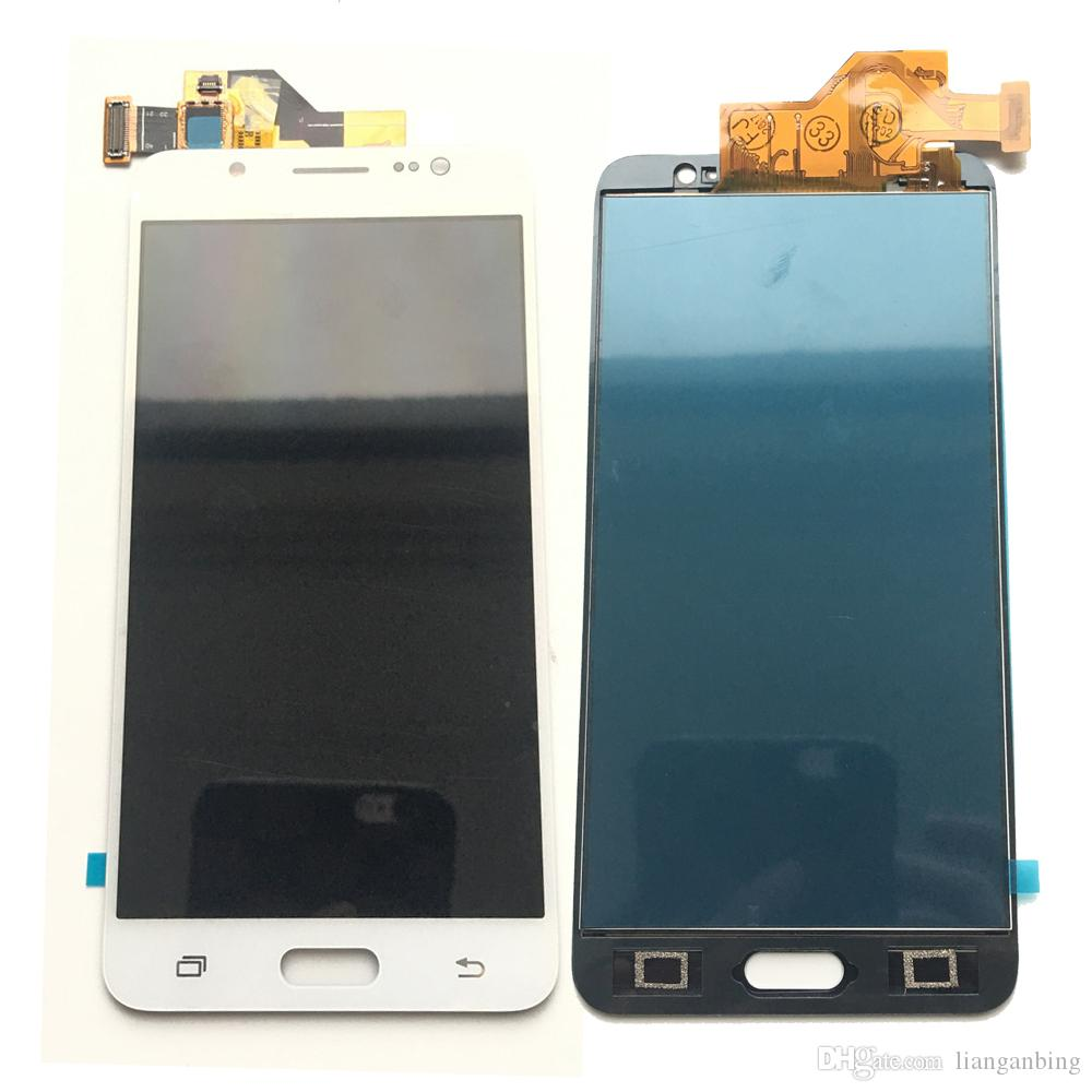 NEW LCD Display Touch screen Digitizer Replacement For Samsung Galaxy J5 J510 J510F J510M J510Y Not Adjusted Black/White/Gold DHL logistics