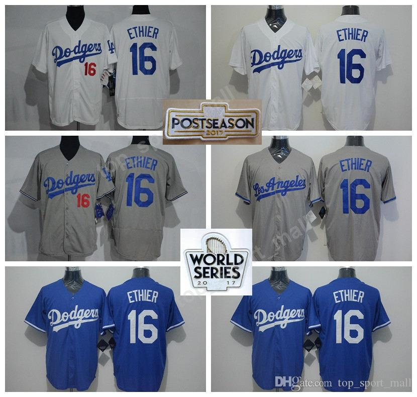 c94c107ab ... stitched mlb jersey 2017 los angeles dodgers baseball jerseys 2017  world series 16 andre ethier jersey