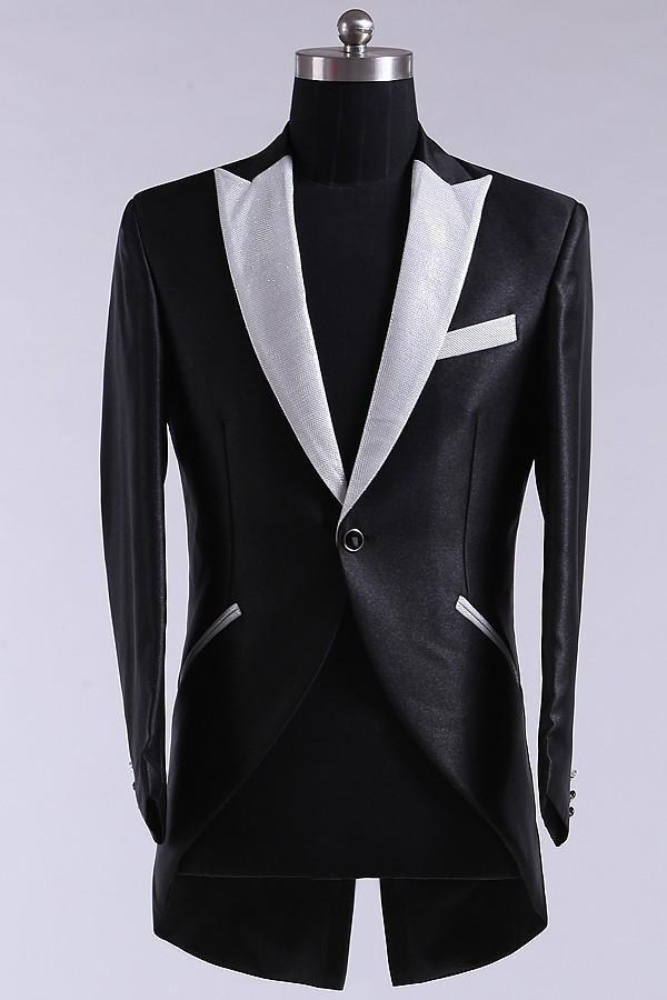 Arrivo Men's Tuxedo Vestiti da sposa Abiti da sposa uomo Marca Maschile Slim fit Suits giacca + pantaloni + cravatta
