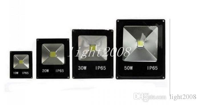 IP65 للماء 10W 20W 30W 50W بقيادة الكاشف في الهواء الطلق مصباح المشروع الكاشف الأضواء الكوز الإضاءة 85-265V الأضواء الكاشفة السوبر مشرق