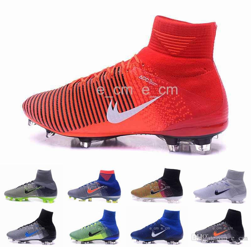 2017 2016 Mercurial Superfly V Fg Soccer Shoes Rio Olympic ...
