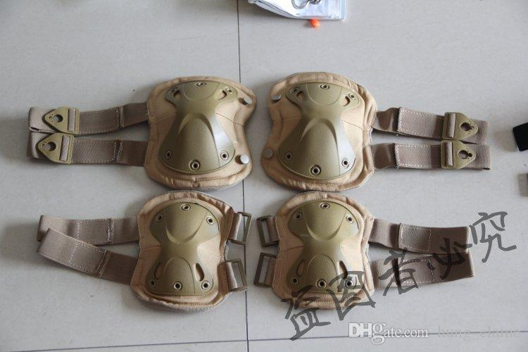 Tactical Extreme Sports Safety Protective Gear Elbow Pads & Knee Pads For CS Outdoor Equipment tactical accessories
