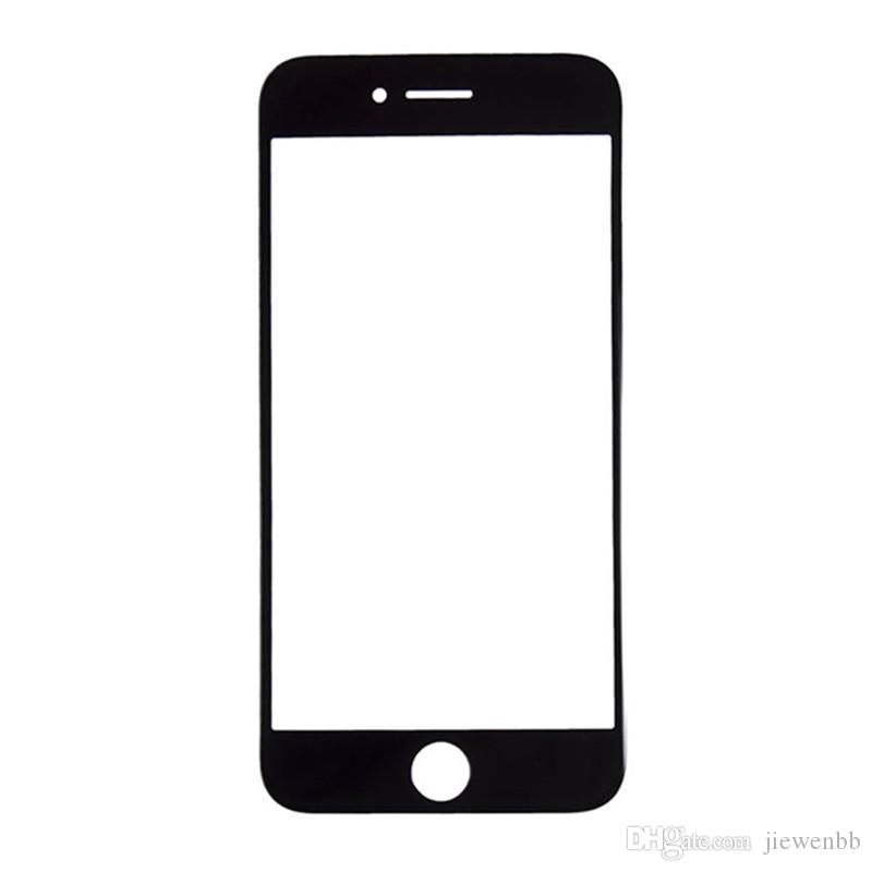 """High quality black / white 4.7, """"5.5"""" front outer lens, touch screen glass iPhone 7, 7g plus i7 repair replacement part + tool"""