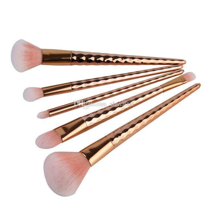 Auf Lager! Spiral-Muster Verfassungs-Bürsten-Satz-Augenbraue Eyeliner Blush Blending Pinsel Professionelle Make-up Pinsel