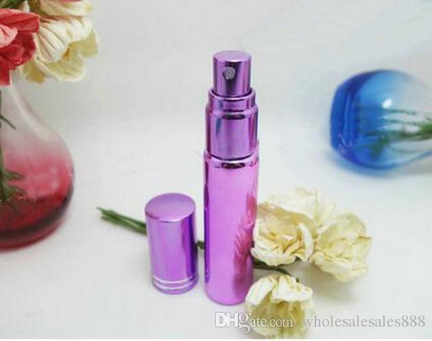 Fabrik Preis 10 ML Reise Parfüm Zerstäuber Nachfüllbare Mini Parfüm Sprühflasche Dispenser Tragbare Leere Reise Spray Scent Pump Fall