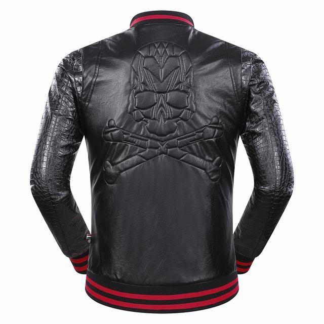 Moto Veste Mince Hommes Manteau Acheter Zipper En Cuir De Casual 17txB