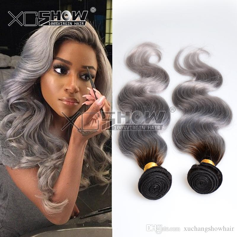 Cheap rosa silver hair weave malaysian ombre body wave virgin hair cheap rosa silver hair weave malaysian ombre body wave virgin hair 1bgrey two tone human hair bundles 8 30 mixed good quality human hair extensions weft pmusecretfo Image collections