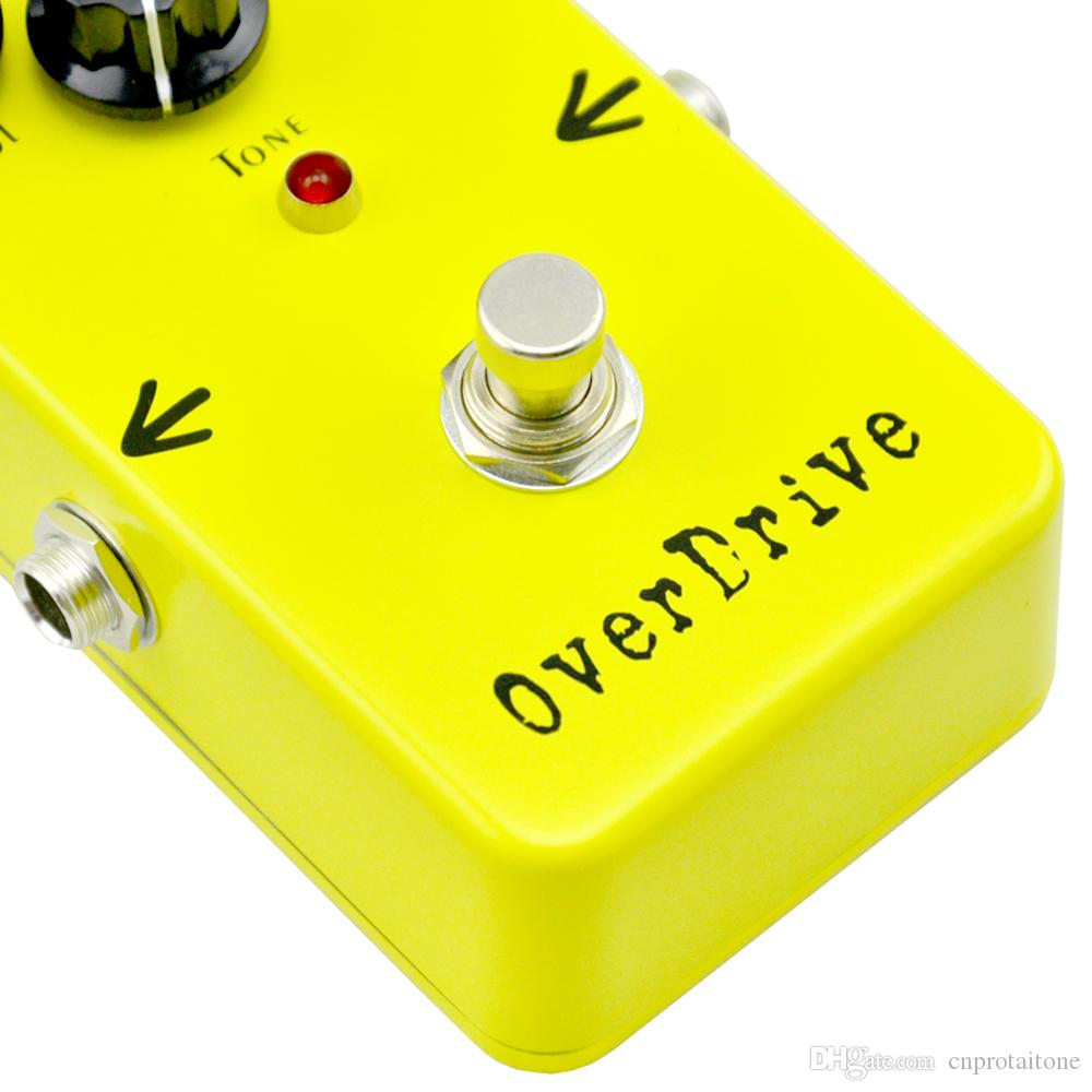 TTONE Overdrive Guitar Effect Pedal True Bypass Electric guitar stompbox pedals