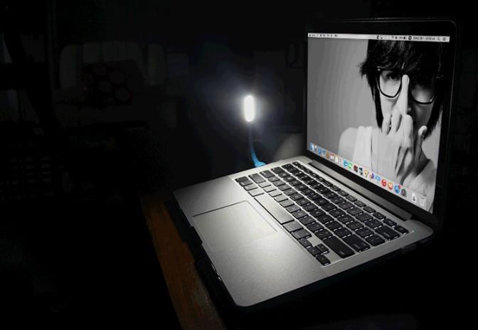 Светодиодные фонари USB лампа конфеты цвет гибкий мини светодиодный свет для планшетных ПК питания ноутбука Power bank USB свет открытый GSZ250