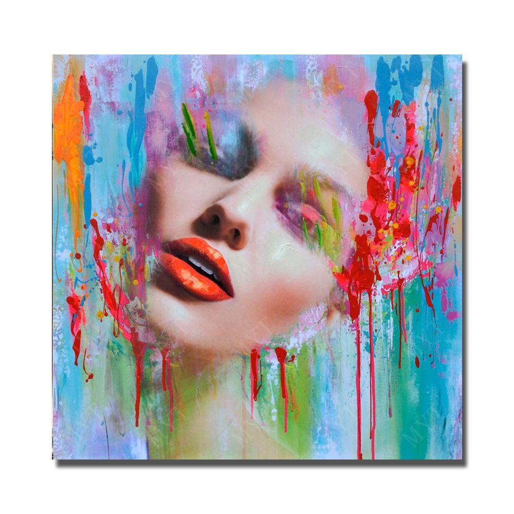AuBergewohnlich Größe Und Tag:Wandkunst, Dekoration, Inneneinrichtungen, Dekorativ, Fine  Art Handbemalt, Bilder