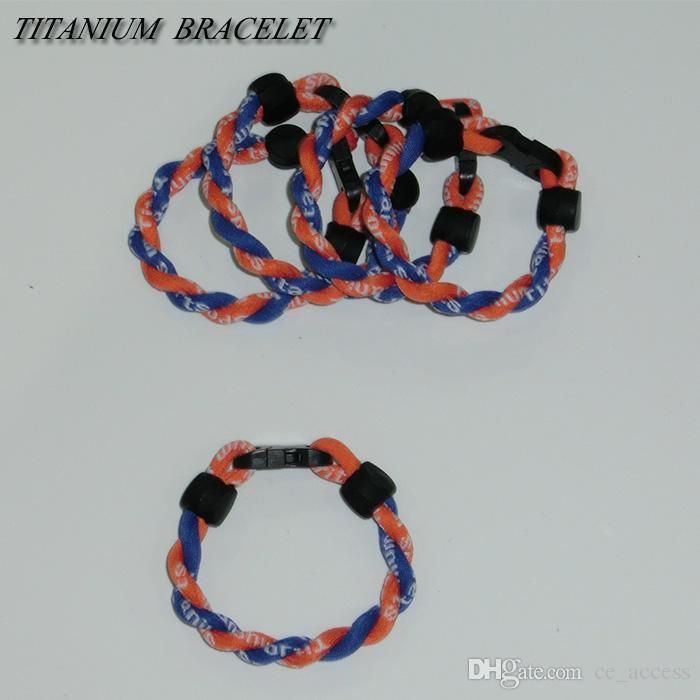 Bracelet tressé par énergie faite sur commande d'OEM / ODM / bandes de puissance bon marché