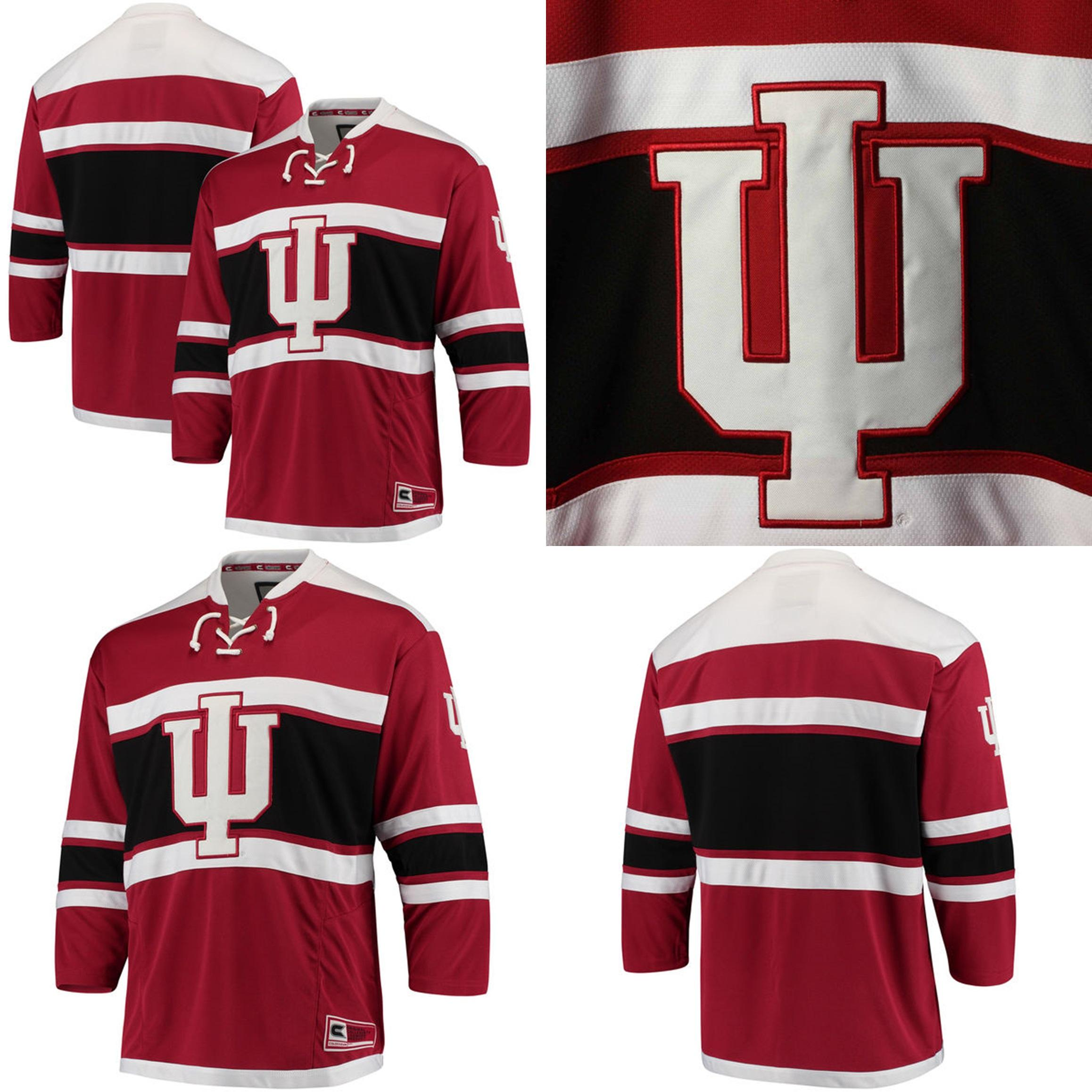 2019 Customize NCAA Indiana Hoosiers College Jersey Mens Womens Kids Custom  Any Name Any NO.Best Quality Ice Hockey Cheap Jerseys S 6XL From  Espn sport 4e2380802