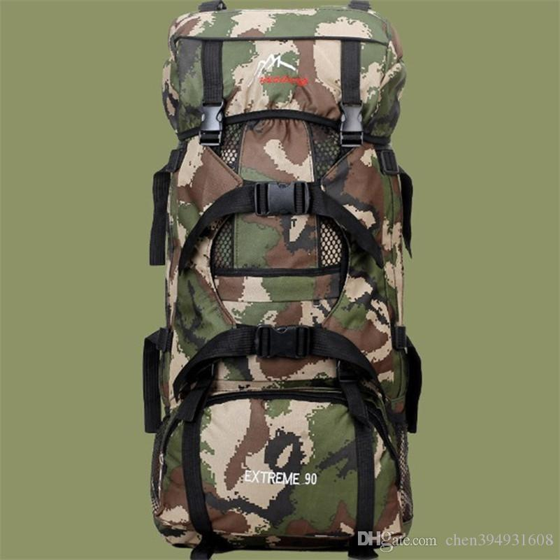 63a0099a32 ... Capacity Climbing Hiking Camping Backpack Climbing Bag Outdoor Travel  Equipment Professional Mountaineering Ba From Chen394931608