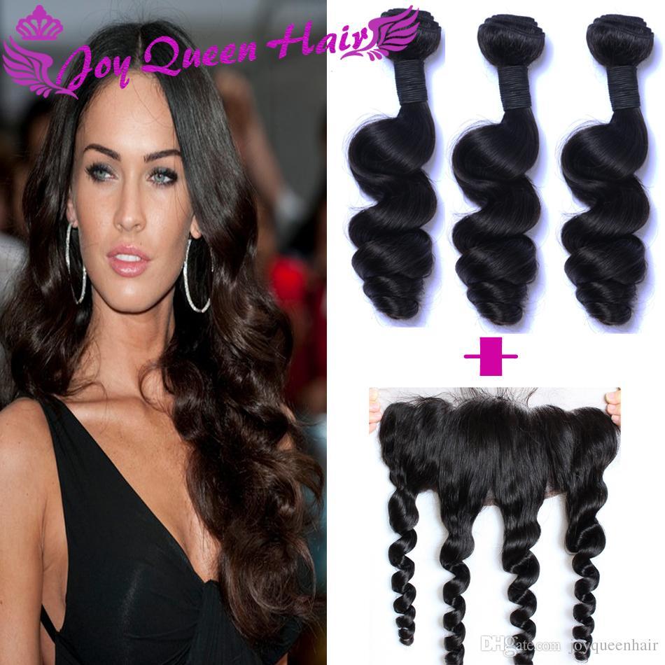 Brazilian Human Hair Weave Closure 13x4 Full Lace Closure Hair