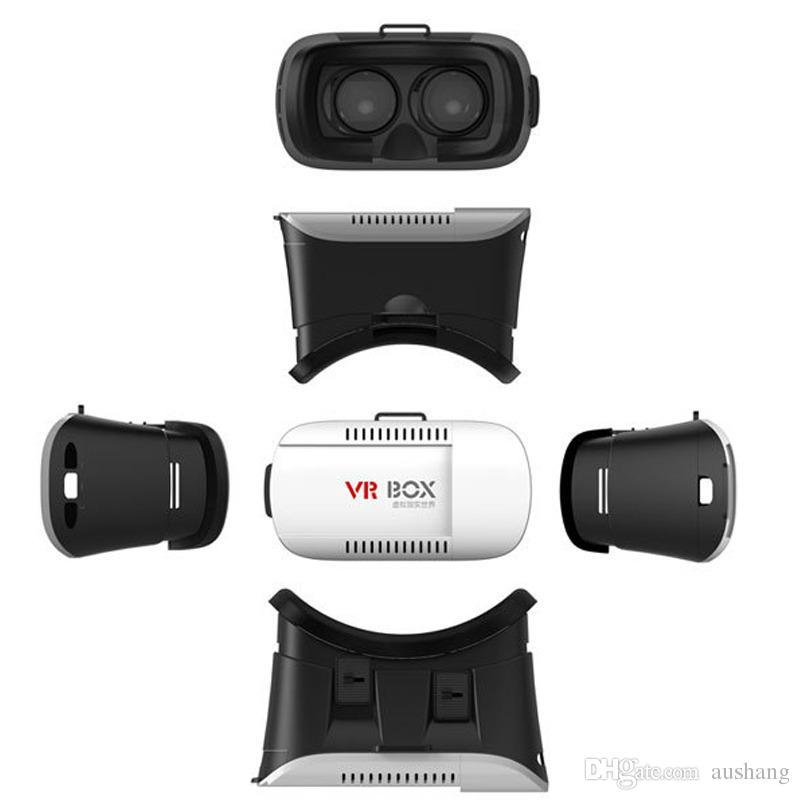 VR Box 1 + Gamepad Realidad Virtual 3D Glasses Casco VR CAJA Auriculares para Smartphone 3.5 pulgadas ~ 6 pulgadas con paquete al por menor