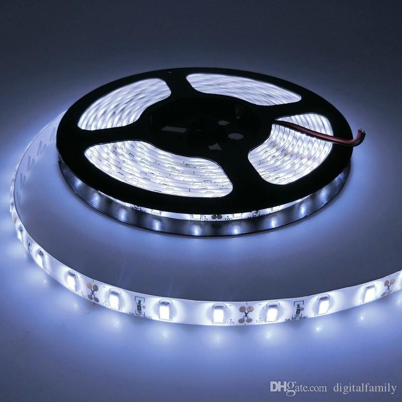 100 M 20 rolos de Alta potência 100 W Brilhante 5 M 300 Led 5630 SMD branco fresco quente branco Flexível LED Luz de Tira À Prova D 'Água IP65 12 V