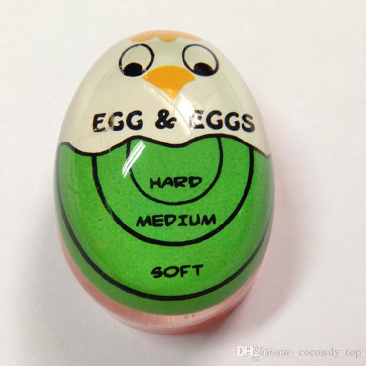 Egg Perfect Color Changing Timer Yummy Soft Hard Boiled Eggs Cooking Kitchen tool