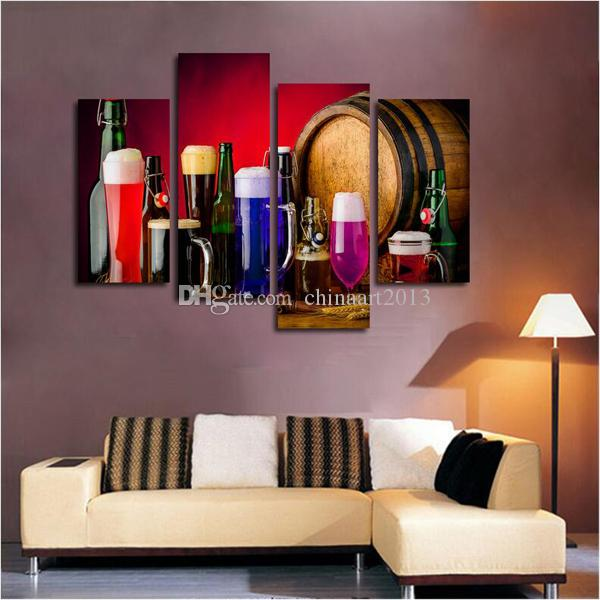 2018 Modern Fashion HD Print Painting On Canvas Wine Glass Wall Art  Pictures For Kitchen Dining Room Home Decoration From Chinaart2013, $34.18  | DHgate.Com