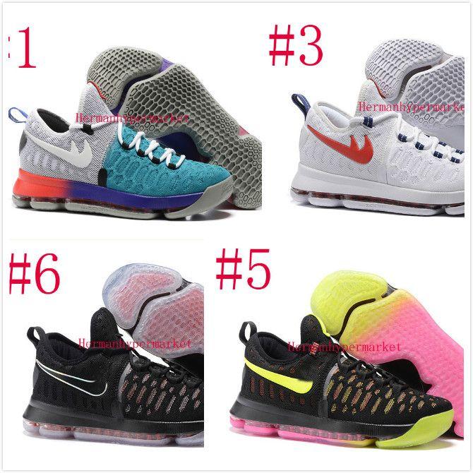 Compre 2016 Zapatos De Baloncesto Kd 9 Ep Ix Juegos Olímpicos De ...