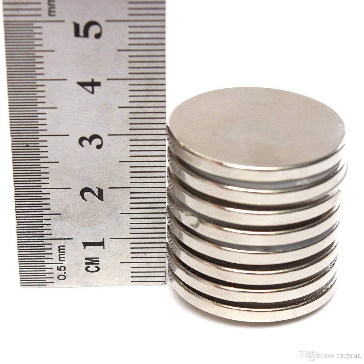 10 pz N52 30mmx3mm Forte Rotonda Magneti a Disco Magnete al Neodimio a Terra Rara