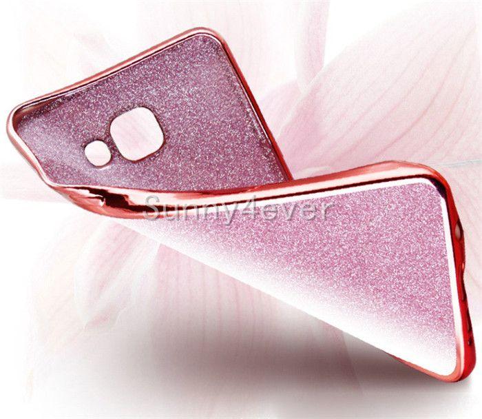 S7 전기 도금 반짝이 전화 케이스 아이폰 6 6s 플러스 5s SE에 대 한 호화스러운 빛나는 블 링 소프트 TPU 커버 삼성 갤럭시 S6 S7 가장자리 플러스