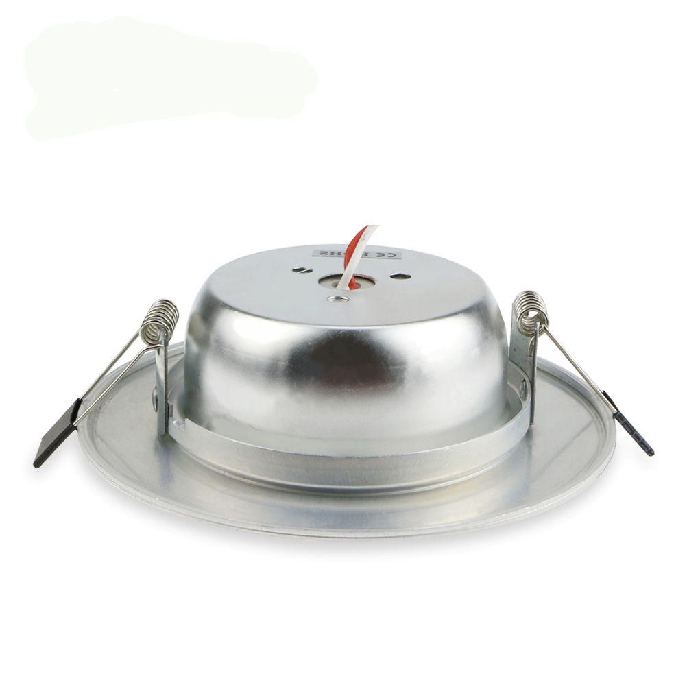 DHL FREIES Silber Körper 10 Watt 15 Watt 20 Watt Led Downlights Deckeneinbauleuchten 120 Winkel Dimmbare Led Downlights AC 110-240 V Mit Treiber