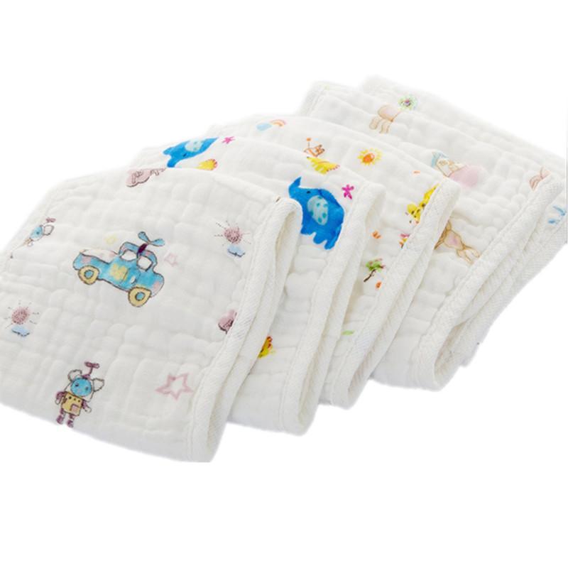 Wash Burp Cloths Before Use: 2017 100% Muslin Cotton Seersckuer 12 Layers Burp Cloths