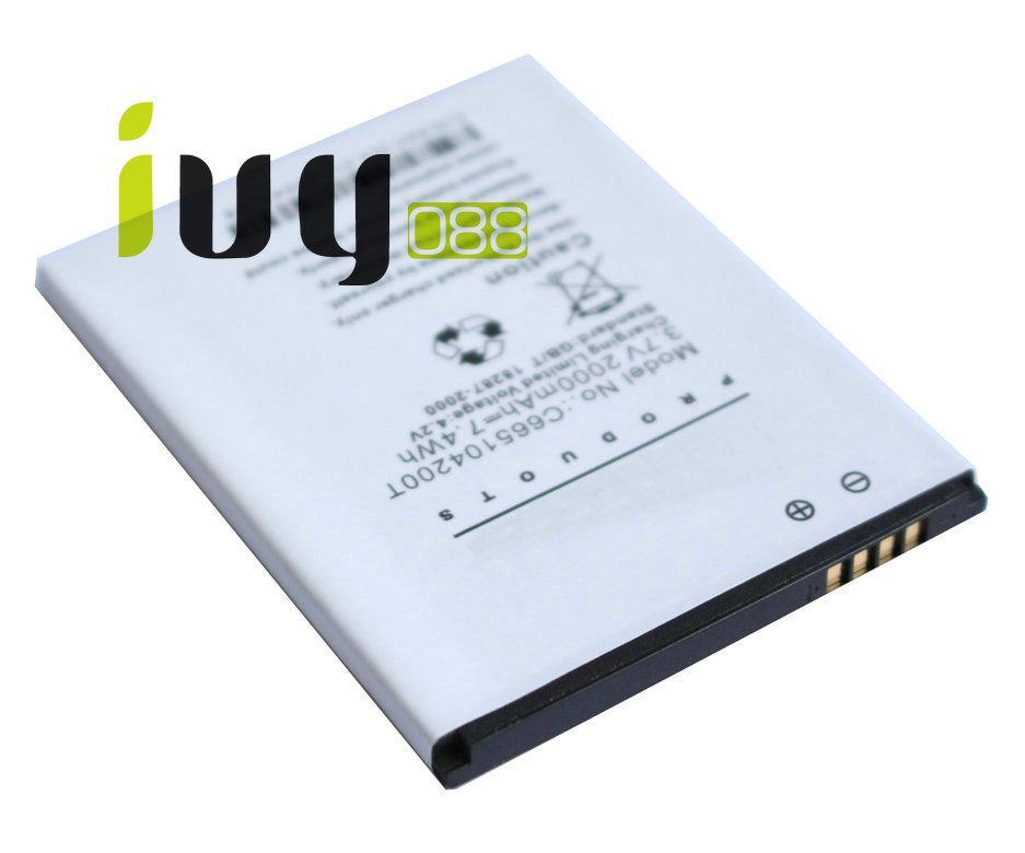 100 قطعة / الوحدة 2000 مللي أمبير C665104200T جديد صانعي القطع الأصلية البطارية ل بلو استوديو 5.0 بطاريات D570A بطاريات batterij