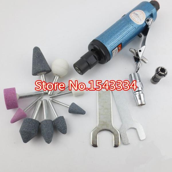 Envío libre Air Die Grinder herramientas neumáticas herramientas de aire molinillo de aire conjunto