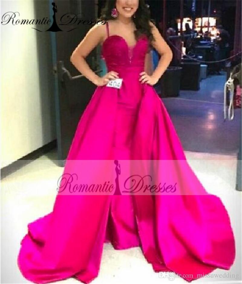 Compre Vestido De Fiesta Fucsia Del Amor Atractivo De Las Correas De ...