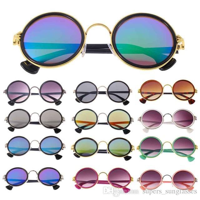 30d19a715d7c4 Compre Frete Grátis Brasil Óculos De Sol Rodada Do Vintage Estilo Retro  Clássico Armações De Metal Óculos De Sol Oculos De Sol Feminino De  Supers sunglasses ...
