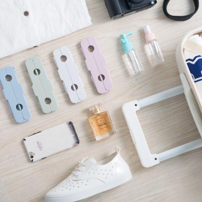 Portable Falten Kleiderbügel Multi-Funktions-Reisen Kleiderbügel Sparen Sie Platz Portable Anti-Rutsch-Wäsche müssen 4 Farben sind optional.