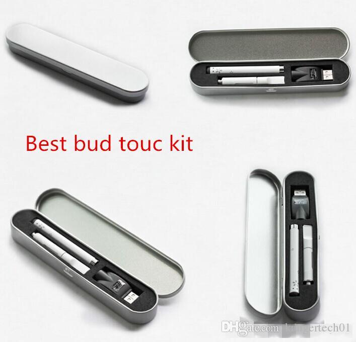 Vape pen kit electronic cigarette bud touch pen kit 510 mini usb ce3 atomizer cartridge with slim bud touch 280mah battery