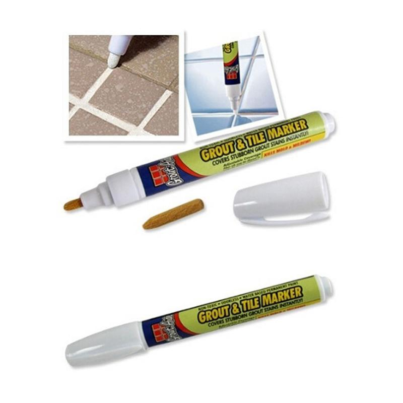 See larger image. 2018 Grout Aide Repair Tile Marker Wall Pen With Retail Box Grout