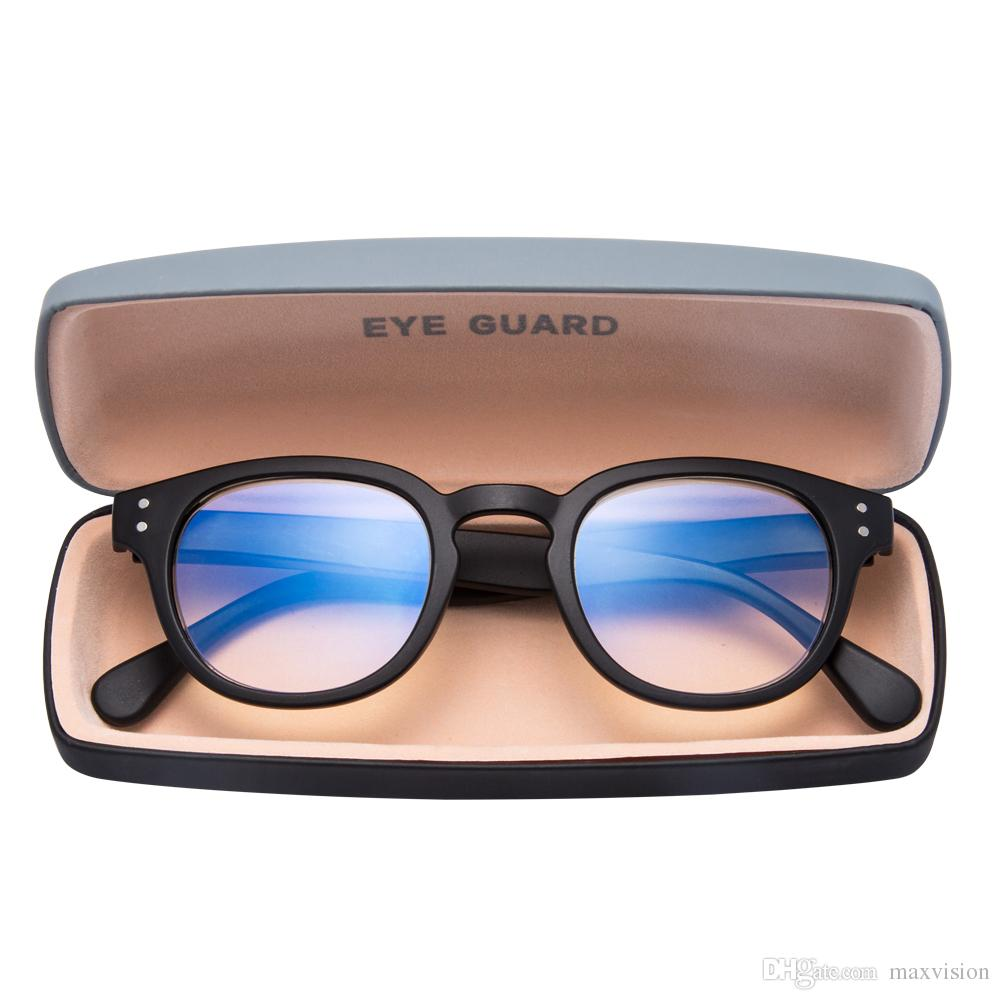 edbc7b70d60 Anti Blue Light & Anti Block Glare Computer Game Readig Glasses Readers  Unisex Black Reading Glasses For Big Heads Reading Glasses For Computer Use  From ...
