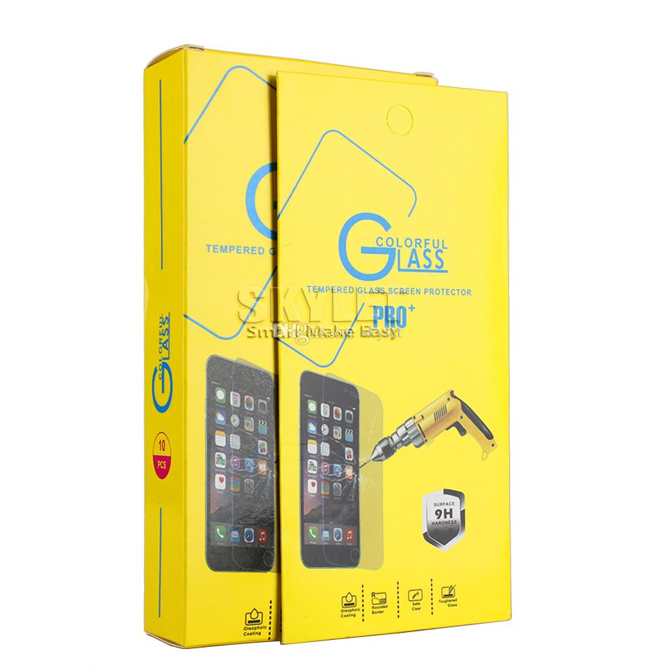 Pour Protecteur d'écran Samsung Galaxy A20 A30 A40 A50 A70 A80 A60 A60 Trempé Verre trempé 0.33mm 9H Qualité Premium avec la boîte de détail