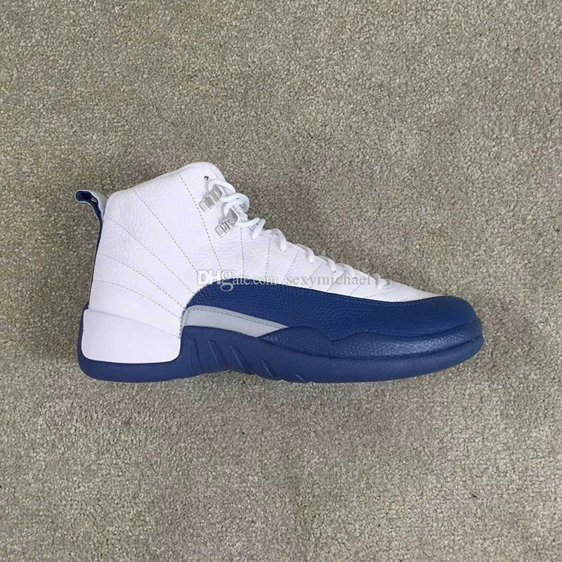 Classic 12 Basketball Shoes 12s Flu Game taxi bred French blue The Master GS OG Factory Quality Version Carbon fiber zoom inside